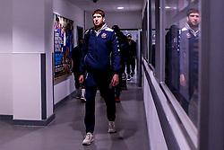 Mike Vigor of Bristol Flyers arrives at London Lions - Photo mandatory by-line: Robbie Stephenson/JMP - 10/04/2019 - BASKETBALL - UEL Sports Dock - London, England - London Lions v Bristol Flyers - British Basketball League Championship