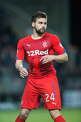 Rangers Derek McGregor. Falkirk 1 v 1 Rangers, Scottish Championship game played 27/2/2014 at The Falkirk Stadium .