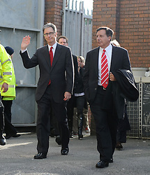 17.10.2010, Goodison Park, Liverpool, ENG, PL, Everton FC vs Liverpool FC, im Bild Liverpool's new owner John W. Henry arrives at Goodison Park ahead of the 214th Merseyside Derby against Everton, EXPA Pictures © 2010, PhotoCredit: EXPA/ Propaganda/ Chris Brunskill *** ATTENTION *** UK OUT!