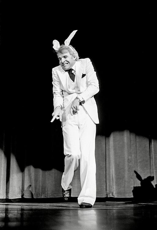 Steve Martin performing April 6, 1978, in Columbia, Missouri.