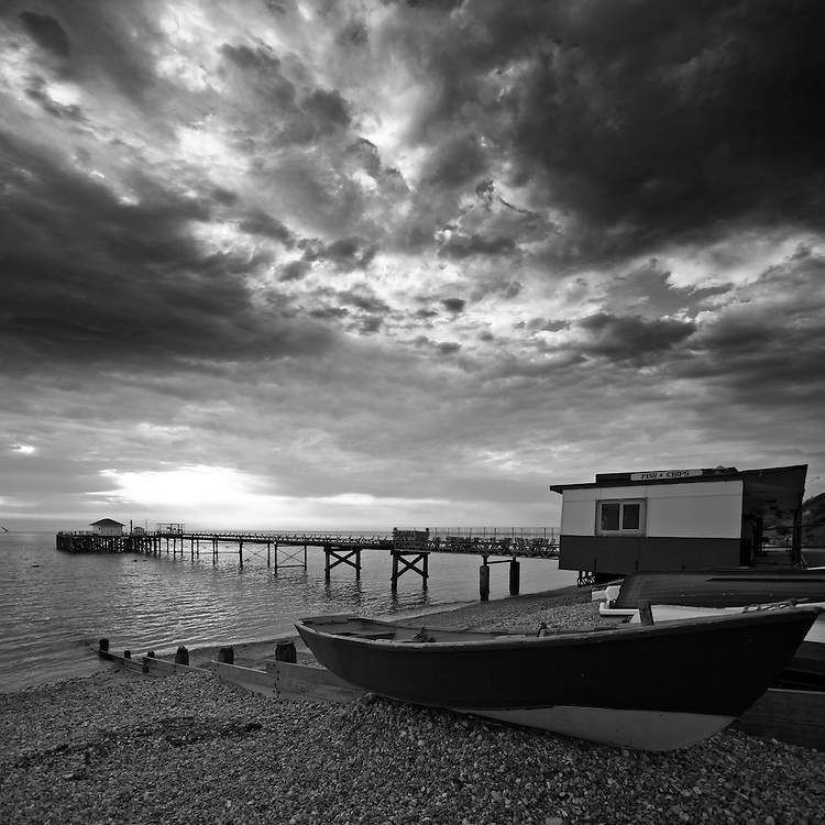Fish and chips at Totland Pier, Isle of wight