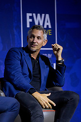 Sports broadcaster Gary Lineker during the Football Writers Association Live event at Ham Yard Hotel, London.