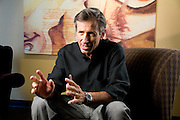 Jim Donald, CEO of Starbucks. Shot at Starbucks offices, Seattle, WA<br />