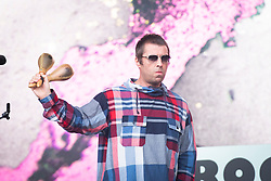 Liam Gallagher performs live on the Pyramid Stage on day 4 of Glastonbury 2019, Worthy Farm, Pilton, Somerset. Picture date: Saturday 29th June 2019.  Photo credit should read:  David Jensen/EmpicsEntertainment