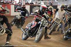 Hooligan Flat Track Racing at the pre-Born Free Stampede in the City of Industry, CA, USA. Thursday, June 20, 2019. Photography ©2019 Michael Lichter.