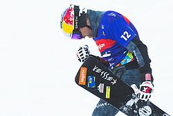 Benjamin Karl (AUT) during parallel slalom FIS Snowboard Alpine World Championships 2021 on March 2nd 2021 on Rogla, Slovenia. Photo by Grega Valancic / Sportida