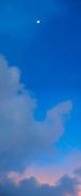 La libertad de un sueño | luna creciente, 31 de mayo de 2020.<br /> <br /> Panorámica de 2 fotografías<br /> <br /> Edición de 10 - Fine Art
