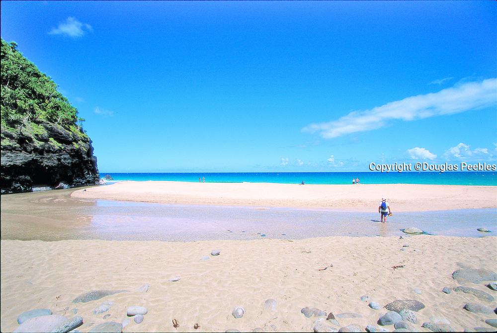 Hanakapiai Beach, Napali Coast, Kauai, Hawaii