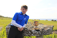 Joshus Hill (Galgorm Castle) winner of the Connacht U16 Boys Amateur Open Championship at Galway Bay Golf Club, Oranmore, Galway on Wednesday 17th April 2019.<br /> Picture:  Thos Caffrey / www.golffile.ie