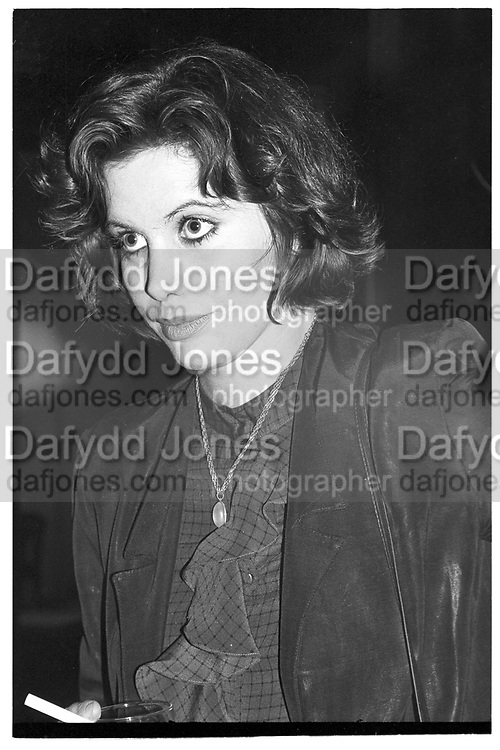 LADY CLAIRE ASQUITH, Mark Amory book party. Agnews, 29 October 1985,<br /> <br /> SUPPLIED FOR ONE-TIME USE ONLY> DO NOT ARCHIVE. © Copyright Photograph by Dafydd Jones 248 Clapham Rd.  London SW90PZ Tel 020 7820 0771 www.dafjones.com
