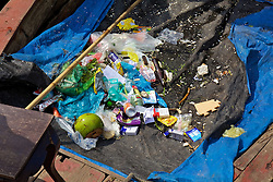 Trash Scooped Out Of Halopng Bay