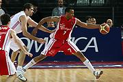 DESCRIZIONE : Roma Lega A1 2006-07 Lottomatica Virtus Roma Whirlpool Varese <br /> GIOCATORE : Howell <br /> SQUADRA : Whirlpool Varese <br /> EVENTO : Campionato Lega A1 2006-2007 <br /> GARA : Lottomatica Virtus Roma Whirlpool Varese <br /> DATA : 25/04/2007 <br /> CATEGORIA : Palleggio <br /> SPORT : Pallacanestro <br /> AUTORE : Agenzia Ciamillo-Castoria/G.Ciamillo <br /> Galleria : Lega Basket A1 2006-2007 <br />Fotonotizia : Roma Campionato Italiano Lega A1 2006-2007 Lottomatica Virtus Roma Whirlpool Varese <br />Predefinita :