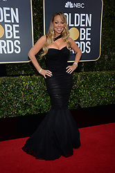 Mariah Carey attending the 75th Annual Golden Globes Awards held at the Beverly Hilton in Beverly Hills, in Los Angeles, CA, USA on January 7, 2018. Photo by Lionel Hahn/ABACAPRESS.COM
