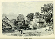 Kumamoto Castle from the book ' Rambles in Japan : the land of the rising sun ' by Tristram, H. B. (Henry Baker), 1822-1906. Publication date 1895. Publisher New York : Revell
