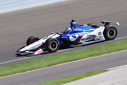 April 30, 2018 - Indianapolis, IN, U.S. - INDIANAPOLIS, IN - APRIL 30: Graham Rahal (15) during an Open Test on April 30, 2018, at the Indianapolis Motor Speedway in Indianapolis, IN. (Photo by James Black/Icon Sportswire) (Credit Image: © James Black/Icon SMI via ZUMA Press)