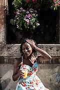 Rome, the writer Taiye Selasi, Trastevere