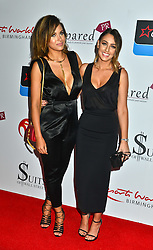 Keisha Hart and Charlie Keogh seen at the VIP red carpet screening of Fifty Shades of Grey at the CineWorld Birmingham. EXPA Pictures © 2015, PhotoCredit: EXPA/ Photoshot/ Jules Annan<br /> <br /> *****ATTENTION - for AUT, SLO, CRO, SRB, BIH, MAZ only*****