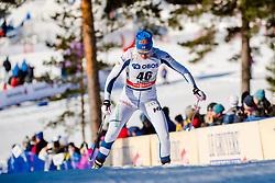 March 16, 2018 - Falun, SVERIGE - 180316 Anne Kylloenen, Finland, tÅvlar i sprintprologen under Svenska Skidspelen den 16 mars 2018 i Falun  (Credit Image: © Simon HastegRd/Bildbyran via ZUMA Press)