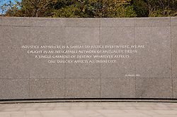 Martin Luther King Jr Memorial, Washington, DC, dc124560