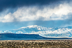 A spring storm brings a bit of weather drama to the mountains, mesas and deserts of the Treasure Valley of Southwest Idaho.