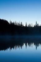 Reflection Lake. Mt. Rainier National Park, WA.
