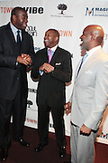 7 March 2011- New York, NY- l to r: Irving Johnson, Kenard Gibbs and Len Burnett at the Power of Urban Presentation and Reception hosted by Magic Johnson and Yucaipa and held at the Empire Penthouse on March 7, 2011 in New York City. Photo Credit: Terrence Jennings/Photo Credit: Terrence Jennings for Uptown Magazine