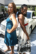 l to r; Laura Everett and Carla Williams  at the Lincoln Presents ' Off the Red Carpet ' at The 2008 American Black Film Festival at The Sofitel Hotel on August 9, 2008..' Off the Red Carpet ' celebrates the film careers of Hollywood insiders and soon to be released films by Black Filmmakers.