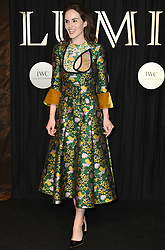 Michelle Dockery attending the BFI's Luminous fundraising gala, held at the Guildhall, London. Picture date: Tuesday October 3rd, 2017. Photo credit should read: Doug Peters/EMPICS Entertainment