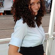 NLD/Amsterdam/20070612 - Premiere Shrek 3, zwangere Fajah Lourens