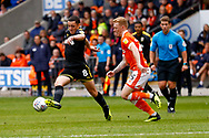Wimbledon midfielder Anthony Hartigan (8) in action  during the EFL Sky Bet League 1 match between Blackpool and AFC Wimbledon at Bloomfield Road, Blackpool, England on 20 October 2018.