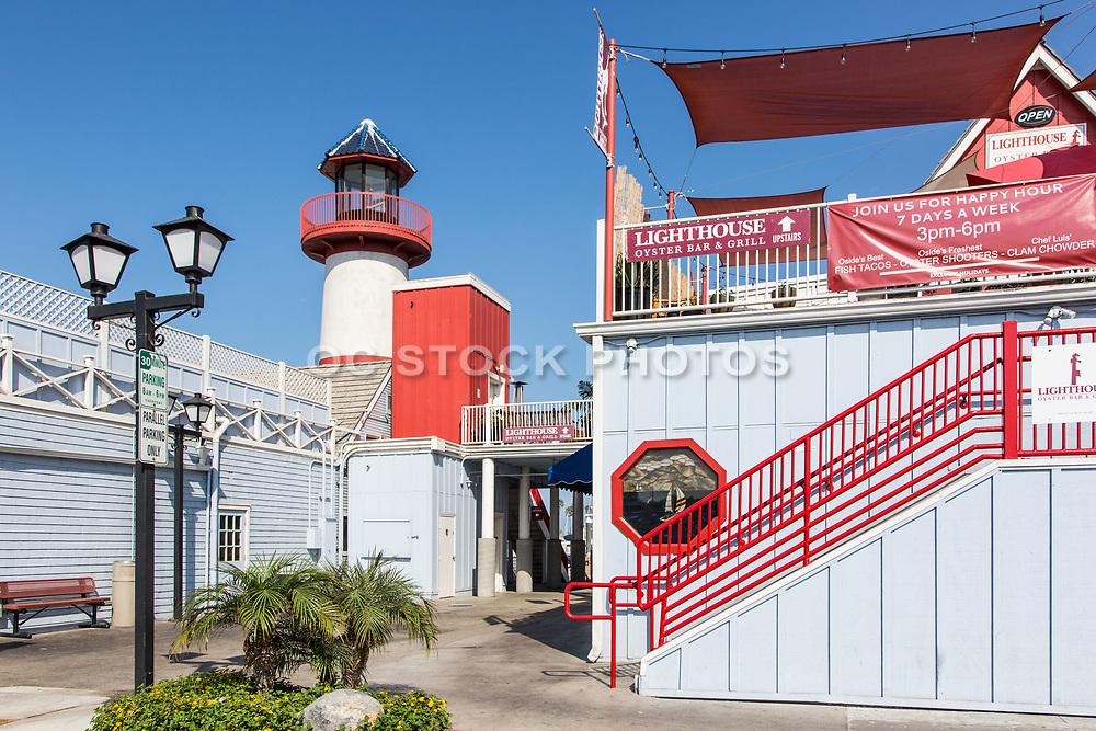 Lighthouse Oyster Bar & Grill Restaurant at Oceanside Harbor Village