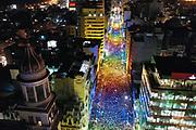 20190927/ Nicolas Celaya - adhocFOTOS/ URUGUAY/ MONTEVIDEO/ CENTRO/ Marcha de la Diversidad por la Avenida 18 de Julio, Montevideo.<br /> En la foto: Marcha de la Diversidad por la Avenida 18 de Julio, Montevideo. Foto: Nicolás Celaya /adhocFOTOS