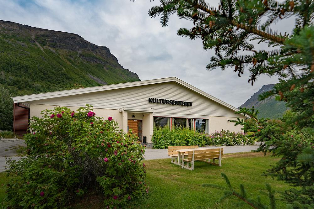 Kultursenteret i Olderdalen, Kåfjord kommune i Troms og Finnmark fylke.