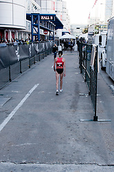 Deena Kastor, post-race after 6th place finish in women's marathon