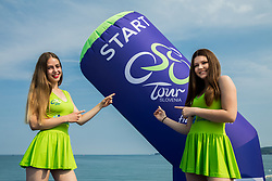 Hostesses prior to the Stage 1 of 24th Tour of Slovenia 2017 / Tour de Slovenie from Koper to Kocevje (159,4 km) cycling race on June 15, 2017 in Slovenia. Photo by Vid Ponikvar / Sportida