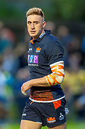 Dougie Fife of Edinburgh Rugby during the Rugby Friendly match between Edinburgh Rugby and Bath Rugby at Meggetland Sports Complex, Edinburgh, Scotland on 17 August 2018.
