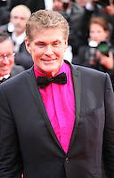 David Hasselhoff.at the gala screening of Jeune & Jolie at the 2013 Cannes Film Festival 16th May 2013