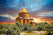 10th century Armenian Orthodox Cathedral of the Holy Cross on Akdamar Island, Lake Van Turkey 49 .<br /> <br /> If you prefer to buy from our ALAMY PHOTO LIBRARY  Collection visit : https://www.alamy.com/portfolio/paul-williams-funkystock/lakevanturkey.html<br /> <br /> Visit our TURKEY PHOTO COLLECTIONS for more photos to download or buy as wall art prints https://funkystock.photoshelter.com/gallery-collection/3f-Pictures-of-Turkey-Turkey-Photos-Images-Fotos/C0000U.hJWkZxAbg