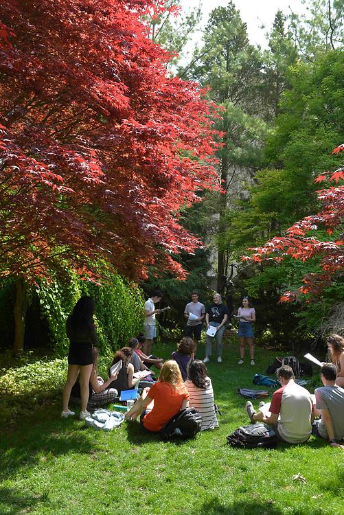 Northwestern Campus in the spring 2017. Photo by Jim Prisching
