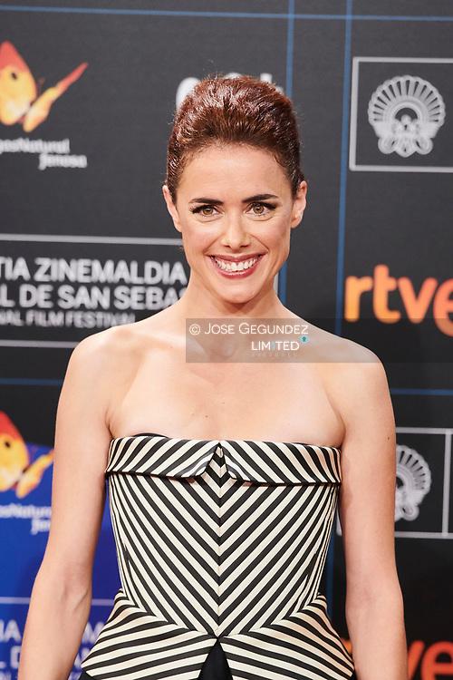 Patricia Lopez Arnaiz 'La Peste' Premiere during 65th San Sebastian Film Festival at Kursaal on September 29, 2017 in San Sebastian, Spain.