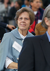 Suzzanne Harrington-Cole, of Fighting Back Partnership was on hand as Blu Homes opened their West Coast factory on Mare Island in Vallejo, California Dec. 1, 2011.  Over 400 guests attended a ribbon cutting ceremony at the 250,000-square-foot facility.
