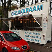 Oliebollenkraam Oude dorp Kerkstraat Huizen