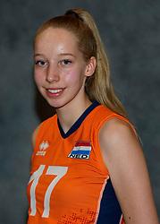 24-12-2019 NED: Photoshoot selection of Orange Youth Girls, Arnhem<br /> Orange Youth Girls 2019 - 2020 / Sabine de Groot #17