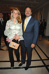 SIR ROCCO & LADY FORTE at a party to celebrate the 180th Anniversary of The Spectator magazine, held at the Hyatt Regency London - The Churchill, 30 Portman Square, London on 7th May 2008.<br />