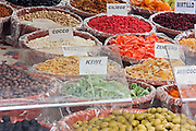 Italy, Lake Maggiore, Dried fruit stall