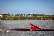 Buffer Stop, at Wexford's O'Hanrahan Railway Station. (C) Dave Walsh 2014
