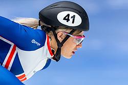 11-01-2019 NED: ISU European Short Track Championships 2019 day 1, Dordrecht<br /> Elise Christie #41 GBR