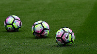 Three Nike 2016-17 Premier League match footballs<br /> <br /> Photographer Chris Vaughan/CameraSport<br /> <br /> Football - The Premier League - Burnley v Swansea City - Saturday 13th August 2016 - Turf Moor - Burnley<br /> <br /> World Copyright © 2016 CameraSport. All rights reserved. 43 Linden Ave. Countesthorpe. Leicester. England. LE8 5PG - Tel: +44 (0) 116 277 4147 - admin@camerasport.com - www.camerasport.com