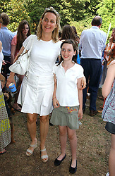 The HON.MRS SOPHIE MONTGOMERY and her daughter LADY CLAUDIA MARQUIS at the Macmillan Cancer Support Dog Day held in the gardens of the Royal Hospital, Chelsea, London on 4th July 2006.<br /><br />NON EXCLUSIVE - WORLD RIGHTS