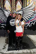 11 October-New York, NY- (L-R) Fish, Inktastic Shop Owner/Entreprenuer and Director/Actress Mo Brown attend the 6th Episode screening of 'Mo Brown's Bodega' held at Inktastic on October 11, 2017 in Brooklyn, New York City.  (Photo by Terrence Jennings/terrencejennings.com)